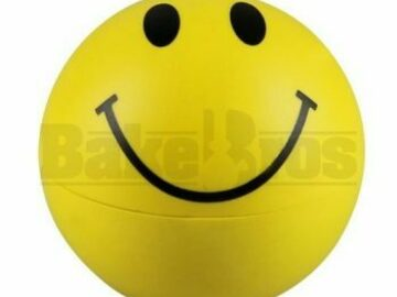 Post Now: Herb Grinder 2 Piece 2.2″ Smiley Face Pack Of 1
