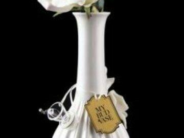 Post Now: My Bud Vase Rose Porcelain Vase Water Pipe