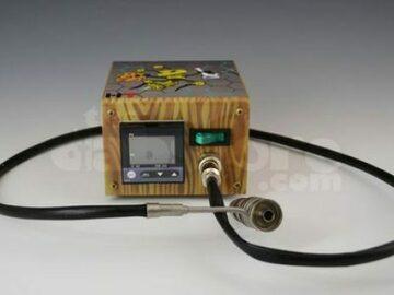 Post Now: High Tech Titanium Mini Honey Highve Custom Enail (Wood Grain)