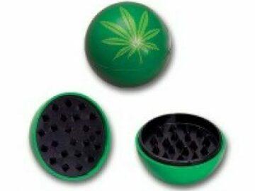 Post Now: Grinder Balls – Green Leaf