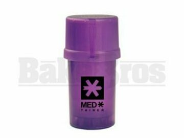 Post Now: Medtainer Container Grinder 3 Piece 3.5″ Translucent
