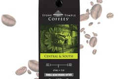 Selling products with online payment: Stone Temple Coffees - Central and South, Whole Bean