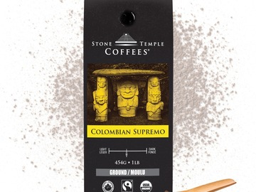 Selling products with online payment: Stone Temple Coffees - Colombian Supremo, Ground