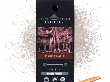 Selling products with online payment: Stone Temple Coffees - Dark Temple, Ground