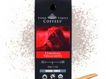 Selling products with online payment: Stone Temple Coffees - Ethiopian Yirgacheffe, Ground