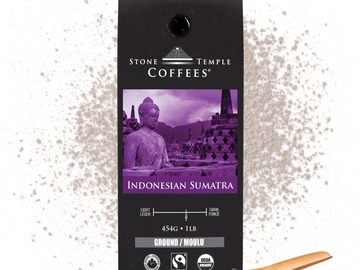 Selling products with online payment: Stone Temple Coffees - Indonesian Sumatra, Ground