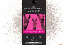 Selling products with online payment: Stone Temple Coffees - Pink Donkey Decaf, Ground