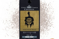 Selling products with online payment: Stone Temple Coffees - Shrunken Head, Ground