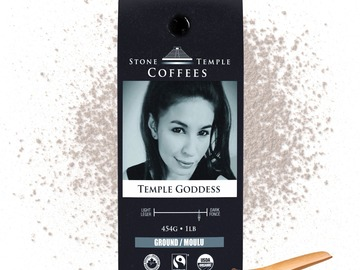 Selling products with online payment: Stone Temple Coffees - Temple Goddess, Ground