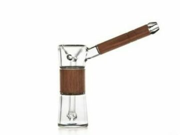 Post Now: Marley Natural Glass Black Walnut Bubbler