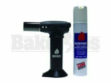 Post Now: Newport Jr Turbo Charged Torch & Butane Can Combo