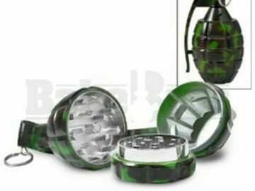 Post Now: Hand Grenade Style Pollen Grinder Camouflage Pack Of 1