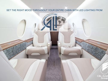 Suppliers: LED Lighting for full cabin by Aircraft Lighting International