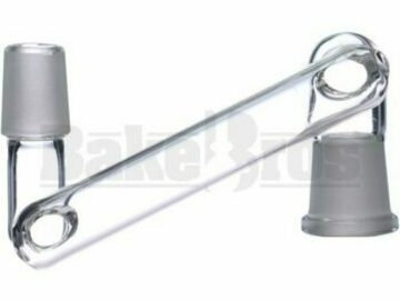 Post Now: Female To Male Dropdown Adapter Mezzo Clear Female 18mm 18mm Male