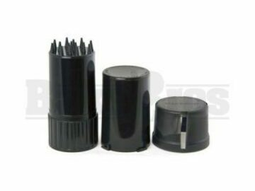 Post Now: Medtainer Container Grinder 3 Piece 3.5″ Solid Black