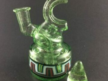 Post Now: MAP Glass mini square neck Green