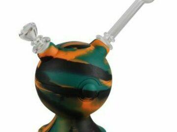 Post Now: No Label Glass Silicone Pokeball Bubbler