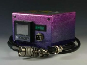 Post Now: High Tech Titanium Mini Honey Highve Custom Enail (Purple Fade)
