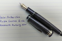 Renting out: Sailor Pro Gear Slim Purple Cosmos (B)