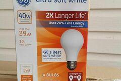 Liquidation/Wholesale Lot: 6 Cases of GE Light Bulbs- Ultra Soft White