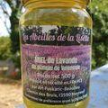 Les miels : Miel de lavande des Abeilles de la Lisette