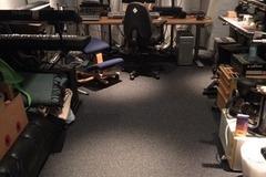 Vuokrataan: Työhuone/treenitila muusikolle.