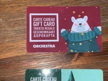 Vente: Carte cadeau Orchestra (40€)