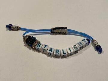 """Selling A Singular Item: Alphabet Letter """"STARLIGHT"""" PULL BRACELET"""