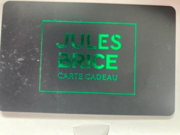 Vente: Carte cadeau Jules - Brice (100€)
