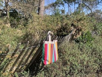 ": Sac de plage ""Roddy"" candy stripes"