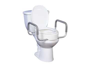 SALE: Drive Raised Toilet Seat with Arms | Calgary