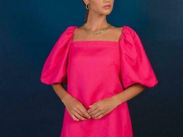 De venta: Linen fabric dress