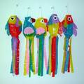 Liquidation/Wholesale Lot: Assorted Color Fish Wind Ornaments