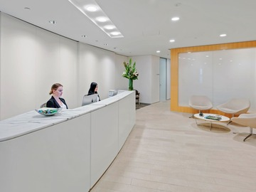 Office Space - bookable per day: Premium 4-pax workspace at Aurora Place Sydney CBD