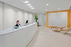 Office Space - bookable per day: Premium 6-pax workspace at Aurora Place Sydney CBD