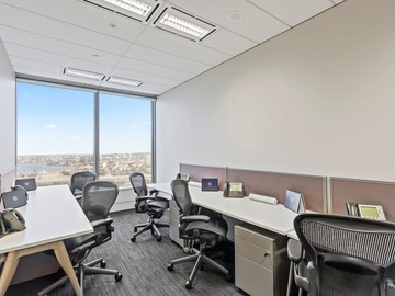 Office Space - bookable per day: Premium 6-pax workspace at Governor Phillip Tower, Sydney CBD