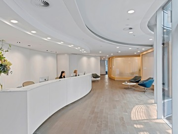 Office Space - bookable per day: Premium 8-pax workspace at 1 Bligh St Sydney CBD