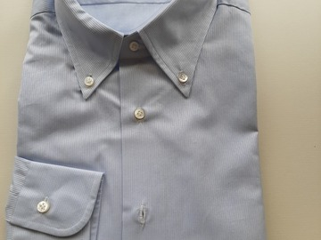 Selling with online payment: NWT Barba dress shirt 45/18