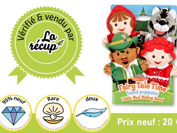Vente avec paiement en ligne: Marionnettes à main - Le Petit Chaperon Rouge