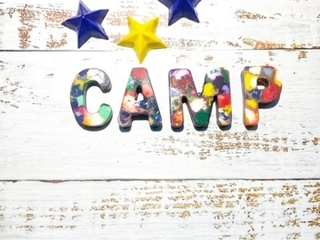 Selling A Singular Item: Personalized Camp Crayons With Star Crayons