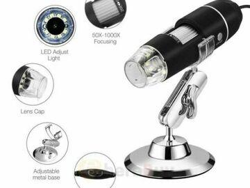 Bán buôn thanh lý lô: 6 Pc Digital Microscope Endoscope 1000X2MP 8LED Magnifier Camera