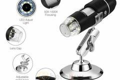 Liquidation/Wholesale Lot: 6 Pc Digital Microscope Endoscope 1000X2MP 8LED Magnifier Camera