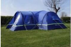 Renting out with online payment: Family Tent Sleeps - up to 8
