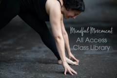 For Sale Now: Mindful Movement: April All-Access Library | Community Price