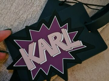 Selling with online payment: KARL Tag/Bag Charm