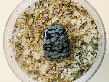 For Sale: Divine Goddess Foot Soak - Soothing Soak with Snowflake Obsidian