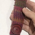 Selling with online payment: Hand Woven Bracelet in Reds
