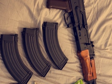 Selling: GHK GBB AK47 and accessories (price negotiable)