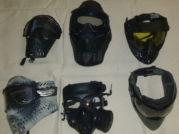 Selling: Masks, used.