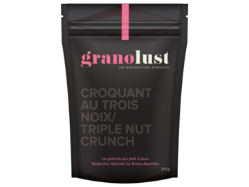 Selling products with online payment: Triple Nut Crunch Granolust